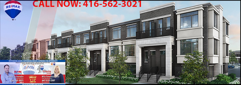 EVOKE VAUGHAN.   A MODERN TOWNHOME COMMUNITY IN VAUGHAN
